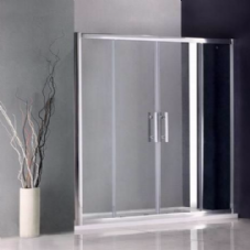 1400MM DOUBLE SLIDING SHOWER DOORS
